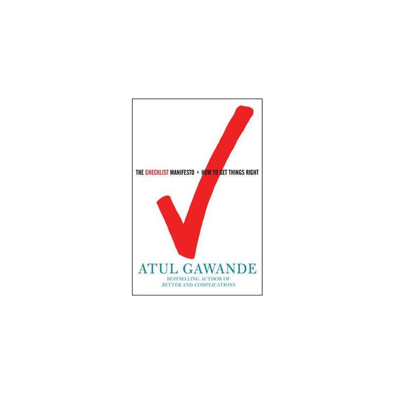 【预订】The Checklist Manifesto: How to Get Things Right 预订商品,需要1-3个月发货,非质量问题不接受退换货。