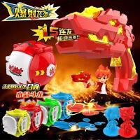 斗龙战士5爆射龙弹玩具斗龙枪全套龙蛋男孩儿童玩具枪