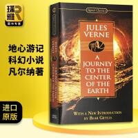 地心游记 英文版 Journey to the Center of the Earth 英文原版小说 凡尔纳著 正版进