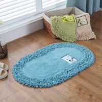 椭圆形脚垫 吸水门垫厨房垫进门垫阳台垫浴室垫地毯浴室门口防滑地垫