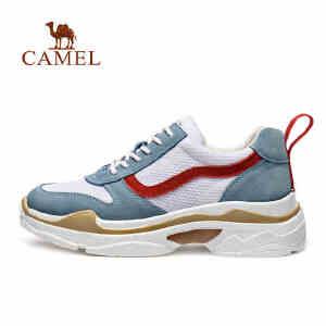 camel骆驼运动鞋 春夏休闲学生透气减震运动休闲鞋女