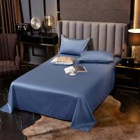 伊迪梦家纺 活性全棉单品单件床单60支长绒棉环保有机纯棉舒适纯色简约大小单双人床LK611