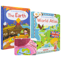 My Big Book of Answers The Earth World Atlas 地球问答大百科幼儿英文科普翻