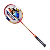 VICTOR胜利羽毛球拍 威克多羽拍 尖锋8266 MX-8266 带线