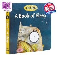 【中商原版】点读版小读榜 尹宋那睡眠之书 il Sung Na A Book of Sleep 纸板书 wifi版 兰登