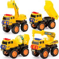 儿童玩具车仿真工程车玩具工程车队模型男女小孩玩具挖车礼物