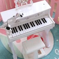 钢琴儿童玩具初学者女童玩具电子琴带麦克风1-3-6宝宝生日礼物