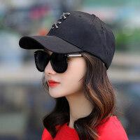 棒球帽女韩版街头潮流休闲百搭鸭舌帽户外旅游遮阳防晒太阳帽