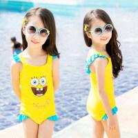 儿童泳衣女童游泳衣连体婴儿幼儿宝宝小童分体公主中大童泳装