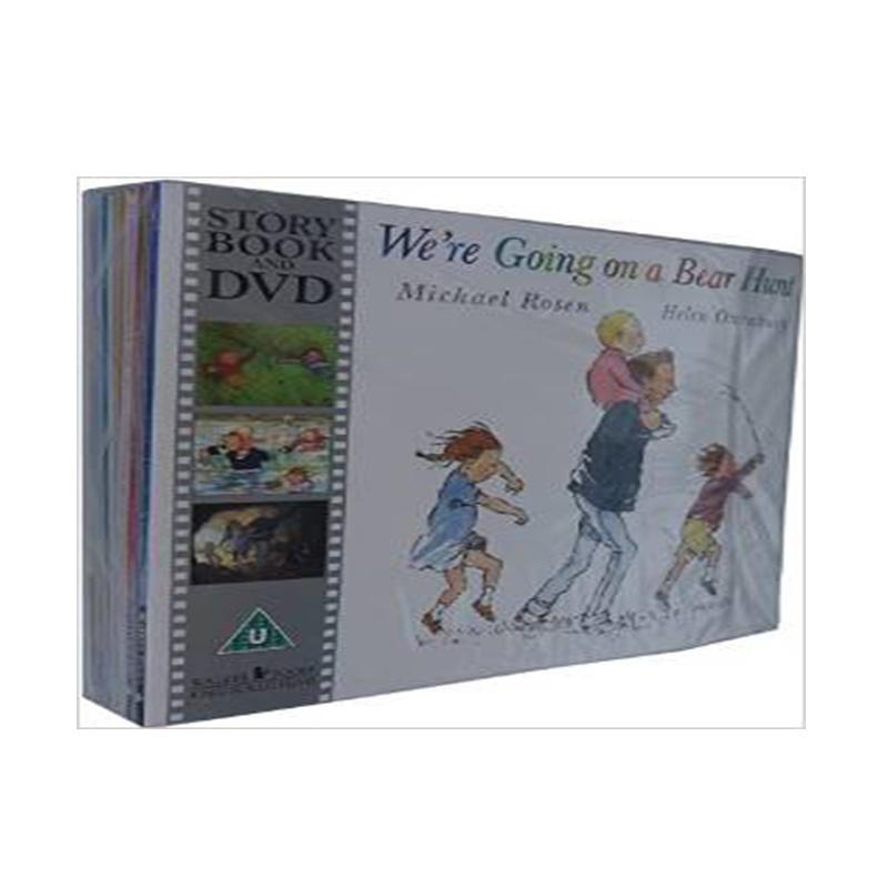 Time for a Story Collection 经典绘本套装(含《我们去捉狗熊》等10本经典绘本+DVD)ISBN9781406368017