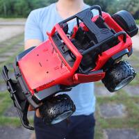 儿童玩具男孩玩具赛车模型大遥控越野车充电可开门悍马遥控汽车