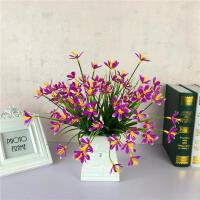 桌面仿真假花套装客厅餐桌小盆栽摆件卧室茶几装饰花盆景摆设