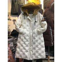 Z1棉衣女中长款韩版学生刺绣 蜜蜂面包原宿棉袄外套冬连帽1.1
