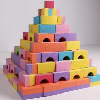 孩子儿童礼物拼插积木玩具礼物泡沫软体积木构建