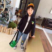 男童连帽外套春装新款童装儿童运动上衣休闲春秋