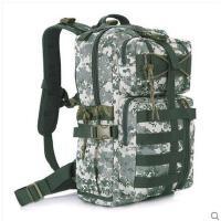 百搭大容量包包骑行登山包防水男女徒步迷彩战术背包户外双肩包旅行包