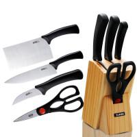 苏泊尔套装刀具5件套不锈钢厨房菜刀切片刀削皮刀菜刀厨房套刀T0924-K