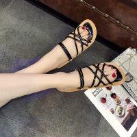 户外时尚拖鞋女外穿韩版女士单鞋平底鞋软底百搭女鞋潮