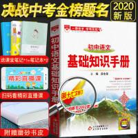 基础知识手册初中语文薛金星2020新版第十七次修订