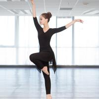 舞蹈练功服女新款套装民族古典现代舞形体跳舞服装两件套裤裙