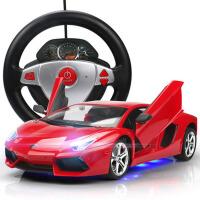 遥控跑车赛车汽车大号兰博基尼遥控车可开门儿童玩具车充电漂移