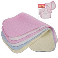 尿布纯棉新生婴儿可洗夏季30片装0-3-6个月100%全棉新生儿介子布 L