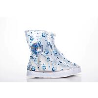雨鞋套男女鞋套雨天防水防滑中短筒加厚耐磨学生儿童户外鞋套