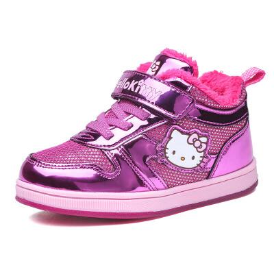HelloKitty女童鞋儿童棉鞋季新款运动鞋小童学生女孩板鞋全店满99减30 199减70