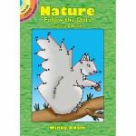 Nature Follow-the-Dots Coloring Book(【按需印刷】)