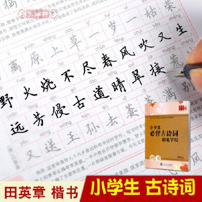 临摹练字字帖硬笔书法钢笔楷书字帖小学生语文楷书儿童铅笔练习字帖