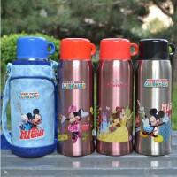 迪士尼保温杯不锈钢儿童保温杯米奇保温杯学生保温水壶水杯子
