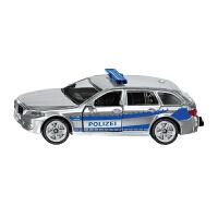 奔驰保时捷巡逻车仿真模型14系列挂件装城市合金车