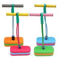 教学健身运动玩具 户外体育比赛器材 儿童青蛙跳有声弹跳鞋
