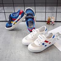 儿童网鞋回力童鞋男童运动鞋镂空透气中大女童跑步鞋网面白色凉鞋