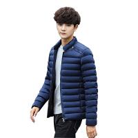 冬季男士外套棉衣男加厚青少年韩版修身立领短款棉服冬装棉袄子潮
