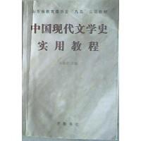 【旧书二手书8成新】中国现代文学史实用教程 朱德发 齐鲁书社 9787533307912
