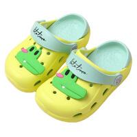夏季����拖鞋防滑�和��鐾吓�可�圮�底卡通�胗�耗型�洞洞鞋