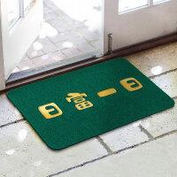 闪垫XPVC丝圈地垫 入户门地毯儿童门垫 进门擦鞋防滑垫家用垫子