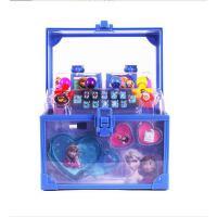 迪士尼公主儿童化妆品玩具套装彩妆盒女孩手提箱冰雪奇缘礼物