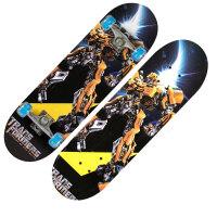 四轮滑板儿童玩具滑板车双翘初学青少年闪光轮枫木