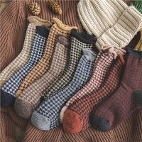 堆堆袜女秋冬潮流个性中筒袜复古保暖