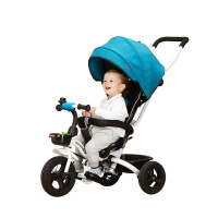 【支持礼品卡】儿童三轮车脚踏车1-3岁折叠车子婴儿手推车宝宝童车自行车w1g