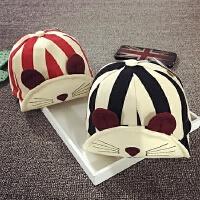 儿童鸭舌帽春秋冬季棒球帽男宝宝帽子1-2岁女童婴儿遮阳帽韩版潮