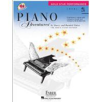 【现货】钢琴的冒险 2A 含在线下载资源 Piano Adventures: Level 2A: Gold Star