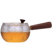 唐丰加厚耐热玻璃茶壶功夫茶具透明侧把壶泡茶壶煮茶器烧水壶