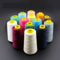缝纫线 线 缝补针线家用缝衣线手缝线白线大卷宝塔线402缝纫机线 p2q