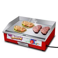 手抓饼机器铁板烧鱿鱼商用电扒炉煎牛排烤冷面机铁板烧设备
