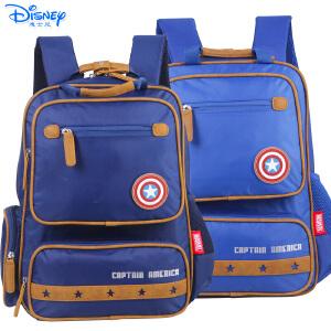 迪士尼美国队长男生小学生1-4年级儿童卡通减负透气书包BA5128