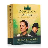 唐顿庄园第二季 剧本 Downton Abbey Script Book Season 2 英文原版小说 电视剧同名小