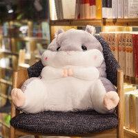 可爱学生腰靠椅子护腰枕靠枕靠背靠垫汽车办公室抱枕被子两用创意lg1